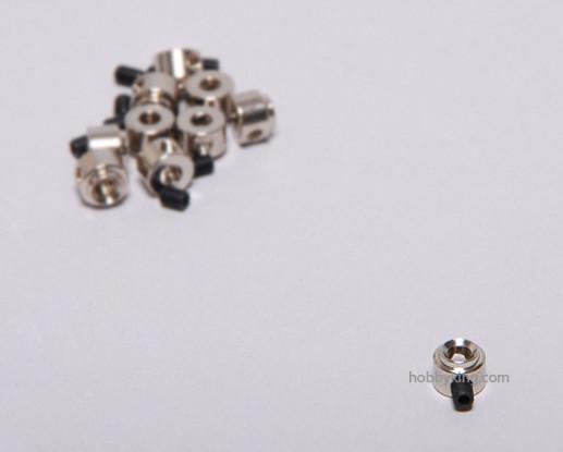 Tren de aterrizaje de ruedas detiene Set collar 8x3.1mm (10 piezas)