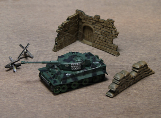 1:70 Escala RC tanque del tigre (RTR)
