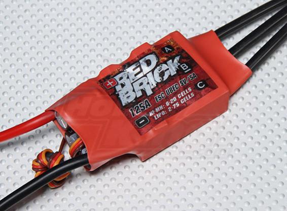 HobbyKing ladrillo rojo 125A ESC