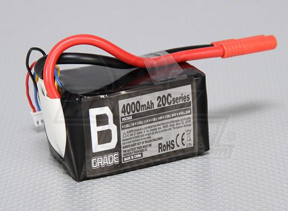 Batería B-Grado 4000mAh 3S 20C Lipo