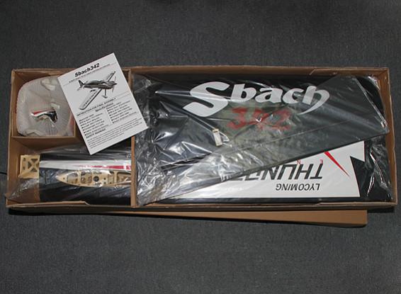 SCRATCH / DENT Hobbyking Sbach 342 30cc Gas 1850mm (ARF)