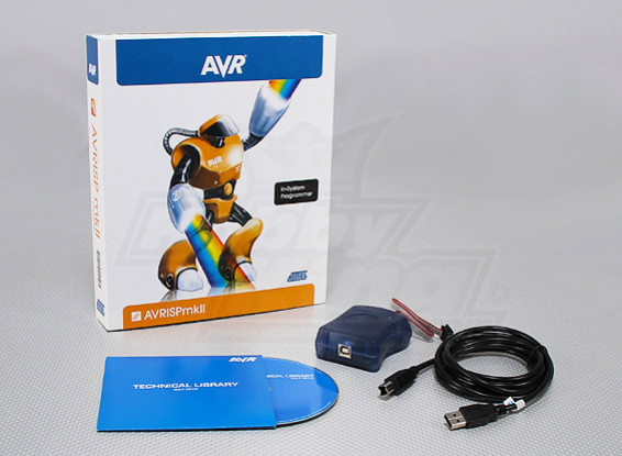 ATMEL AVRISP MKII ISP USB / PDI (genuino)