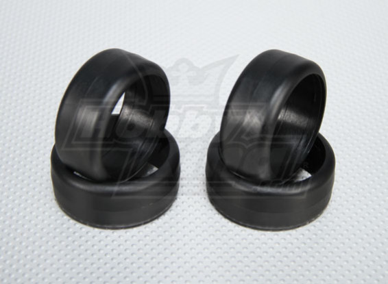 Escala 1:10 Llantas de plástico duro para Drift RC 26 mm de coches (4pcs / set)