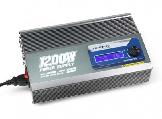 Unidad Turnigy 1200W 50A Fuente de alimentación (enchufe de la UE)