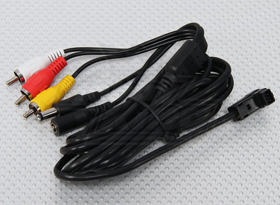 Fatshark FPV base principal Cable de conexión (3 metros)