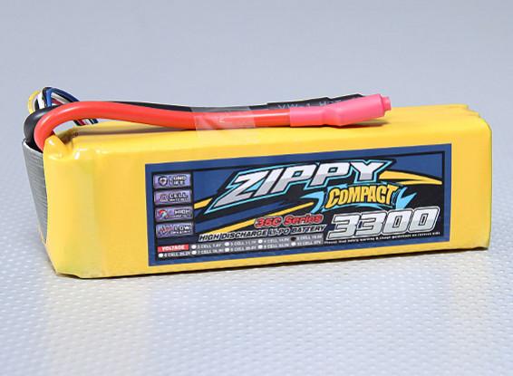 ZIPPY Compacto 3300mAh paquete 5S Lipo 35C