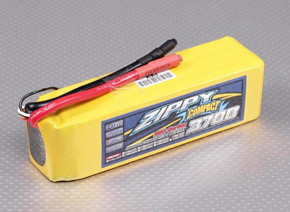 ZIPPY Compacto 3700mAh paquete 5S Lipo 35C