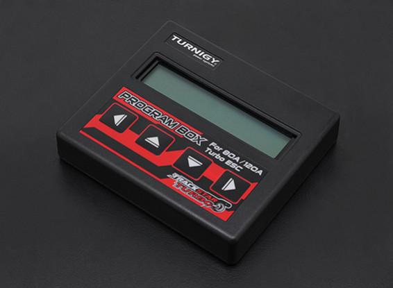 Turnigy TrackStar Turbo ultravioletas caja de programación CES