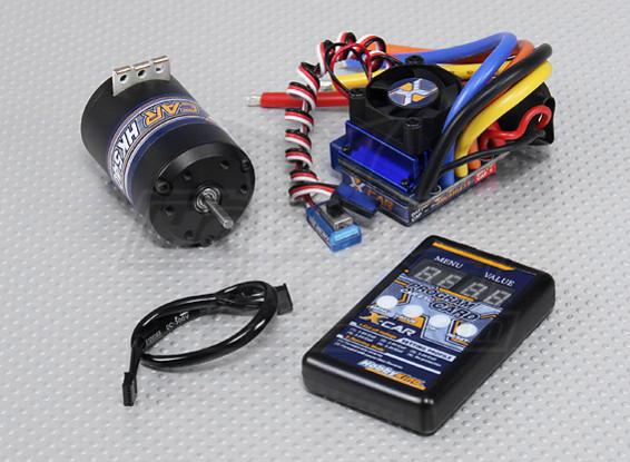 Sistema Hobbyking X-coche sin cepillo 6100KV Potencia / 100A