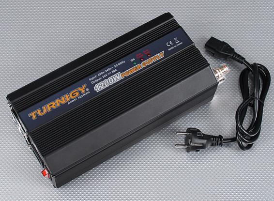 Turnigy 1200W 200 ~ 240V de suministro de energía (24 V CC - 50amp)