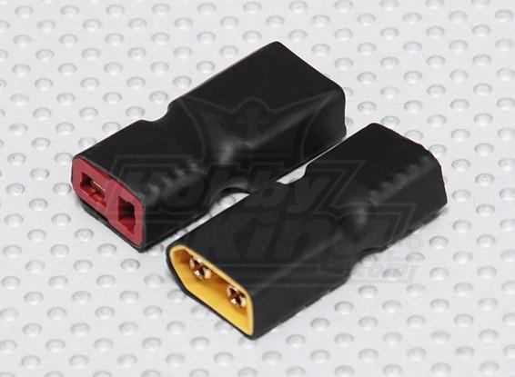 XT60 a T-Conector del adaptador de la batería (2 piezas)