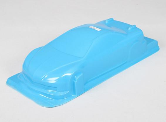 1/10 CR-6R carrocería w / Adhesivos (azul)