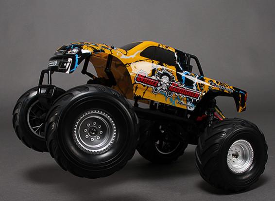 1/10 Skull Crusher Quanum 2WD Monster Truck sin escobillas (ARR)