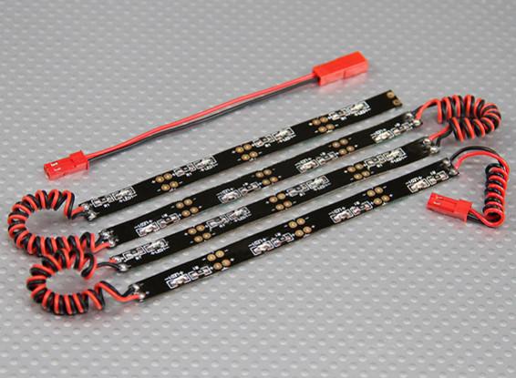 Sistema de neón flexible del LED bajo el cuerpo (amarillo)