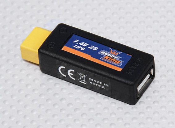 Hobbyking ™ Lipo al adaptador de carga USB