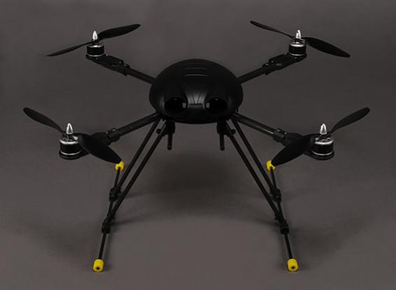 550mm marco del abejorro de fibra de carbono Quadcopter