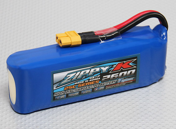 Batería Zippy-K Flightmax 2600mAh 4S1P 25C Lipo