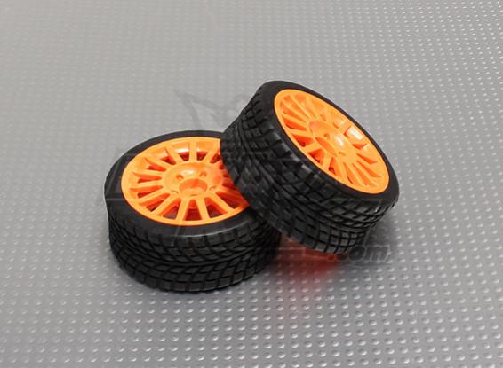 Conjuntos de neumáticos con la rueda de Orange - A2029-33328