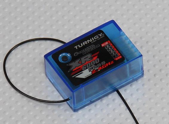 El receptor de 2,4 GHz Turnigy XR6000 6CH para Turnigy 4X / 6X TX