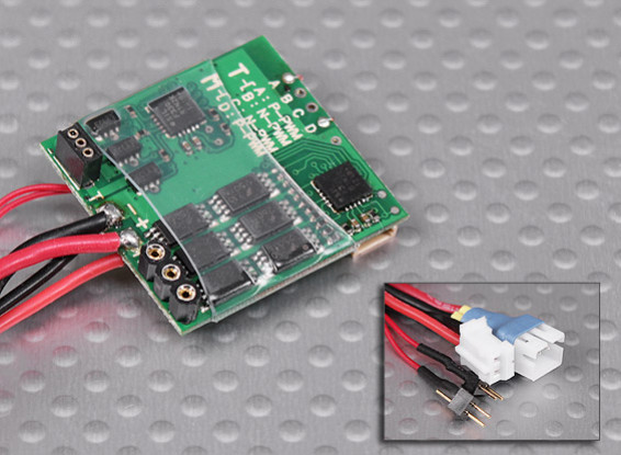 10A Dual Brushless ESC para Micro Heli (trajes FBL100, MCPX, SoloPro 100)