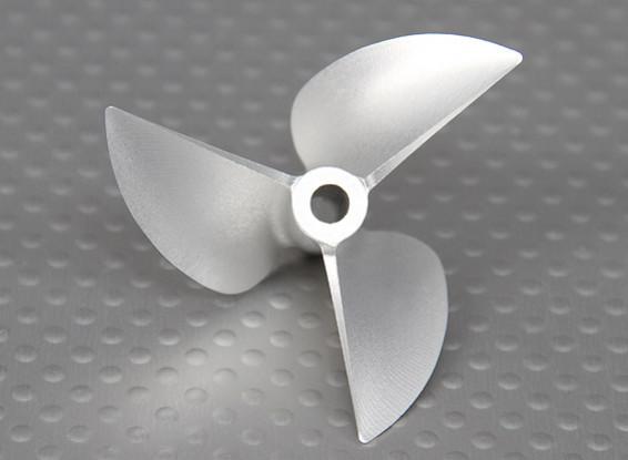 50mm 3 aluminio de la lámina del CNC Barco Prop (P1.4 / 3x3)