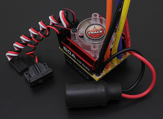 Turnigy Trackstar 1 / 10ª 60A Sensored / ESC sin sensor de coches