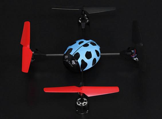 Mini escarabajo Quadcopter RTF (Modo 2)