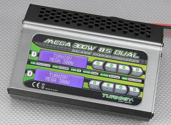 Turnigy Mega 300w 8s del cargador del balance / descargador (150w x 2)