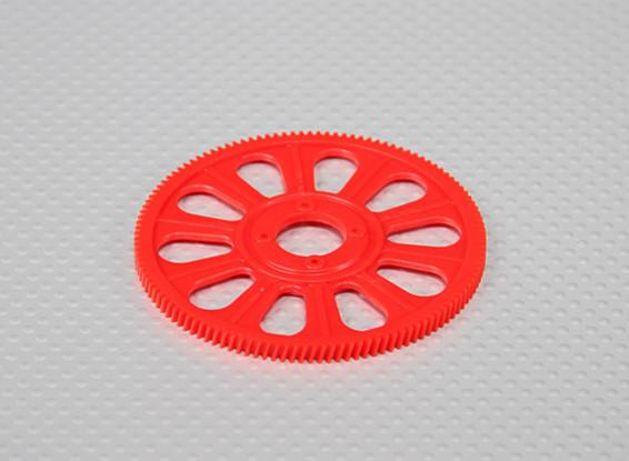 Tarot 450 PRO 121T helicoidal del engranaje principal - Rojo (TL45156-02)