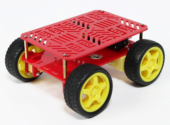 4WD chasis del robot (KIT)