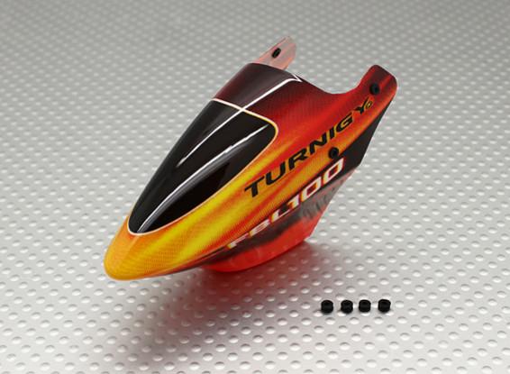 Turnigy FBL100 Canopy w / ojales de goma