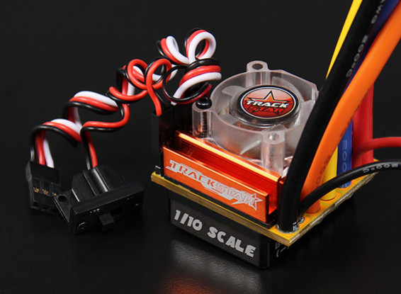 Turnigy TrackStar 100A 1 / 10th escala Sensored sin escobillas CES coche