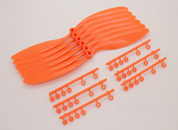 GWS EP hélice (DR-9047 228x119mm) naranja (6pcs / set)