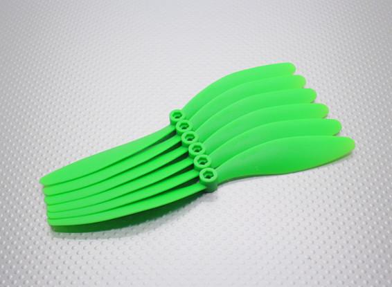 GWS EP hélice (DR-7060 178x152mm) verde (6pcs / set)