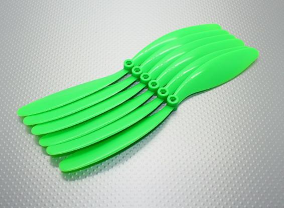 GWS EP hélice (DR-9070 228x178mm) verde (6pcs / set)