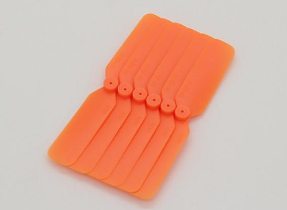 GWS EP hélice (DD-2510 65x25mm) naranja (6pcs / set)