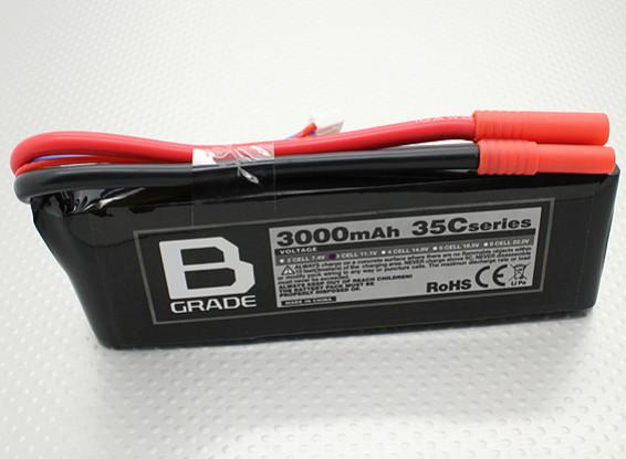 Batería B-Grado 3000mAh 3S 35C Lipo