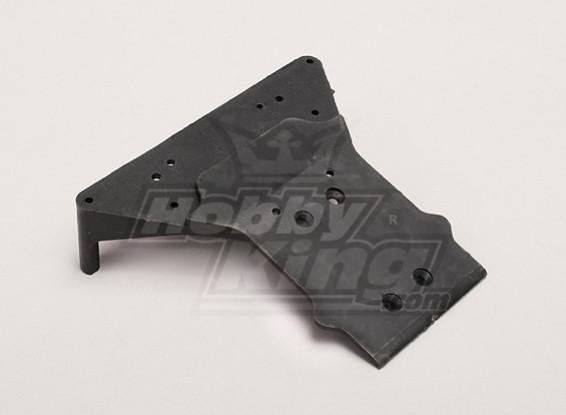 Chasis Placa frontal - Turnigy Trailblazer 1/8, 1/5 XB y XT