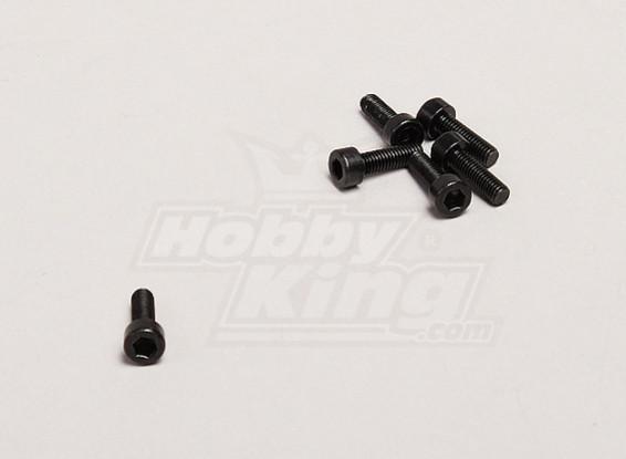 M3x10mm Tornillo de cabeza hexagonal (6pcs / bag) - Turnigy Trailblazer 1/8