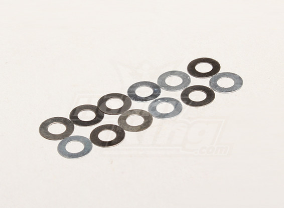 Una arandela de 5.2x10x0.2mm (12pcs / bag) - Turnigy Trailblazer 1/8, XB y XT