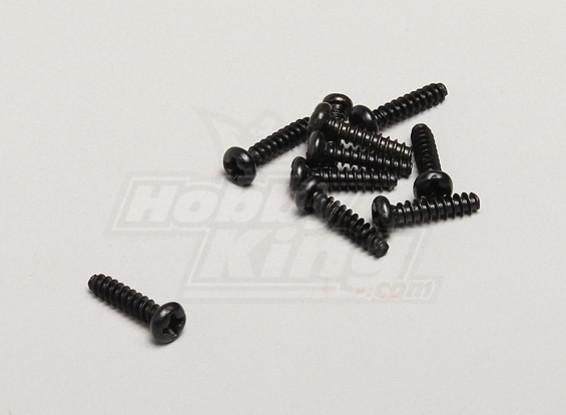 Autoperforantes Tornillo 3x12mm - Turnigy Twister 1/5
