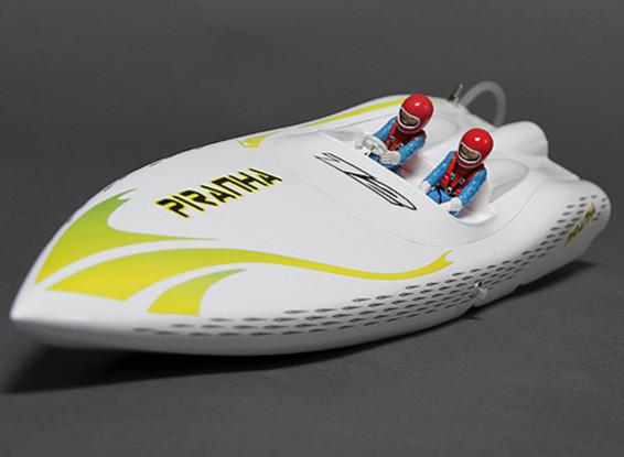 Piranha 400 sin escobillas V-Hull R / C Barco (400 mm) w / Motor