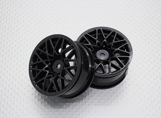 Escala 1:10 alta calidad Touring / deriva de las ruedas del coche RC de 12 mm Hex (2 piezas) CR-LBNB