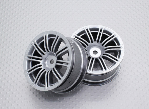 Escala 1:10 alta calidad Touring / deriva de las ruedas del coche RC de 12 mm Hex (2pc) CR-M3S