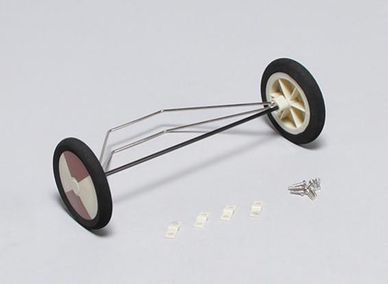 Pioneer 1020mm - Sustitución de rodamientos de apoyo
