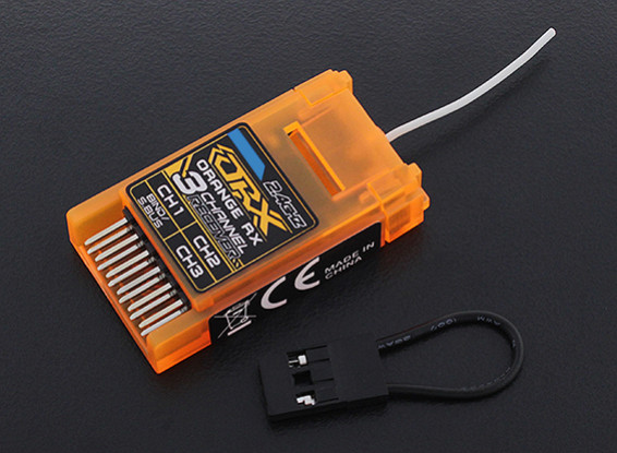 OrangeRx DSMX Compatible DSMX 3Ch S.Bus 2.4Ghz Rx