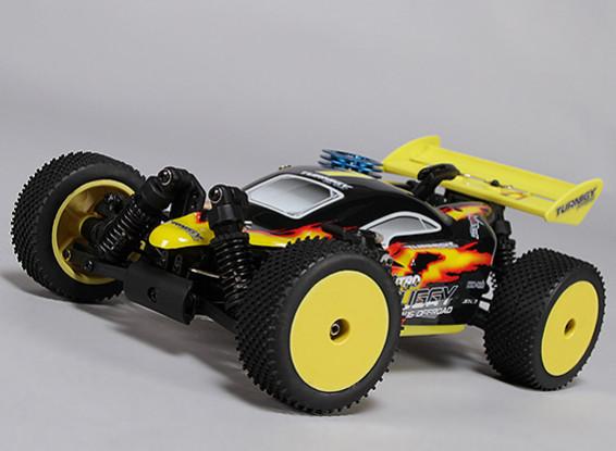 Turnigy 1/16 4WD Nitro Racing Buggy w / .07 mejorada del motor (ARR)