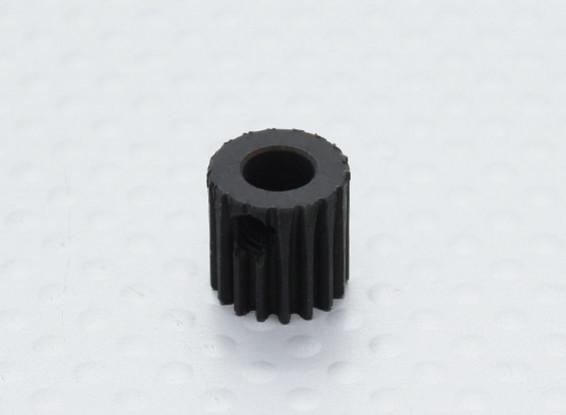 17T / 5 mm de acero templado 48 Pitch engranaje de piñón
