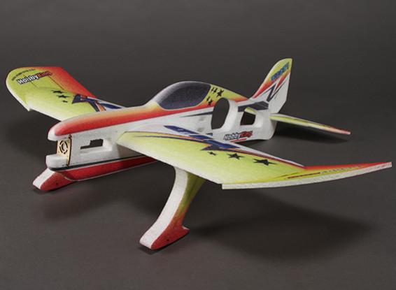 HobbyKing® ™ Fuguillas Funfly Acrobático Avión PPE w / 840mm Motor (ARF)