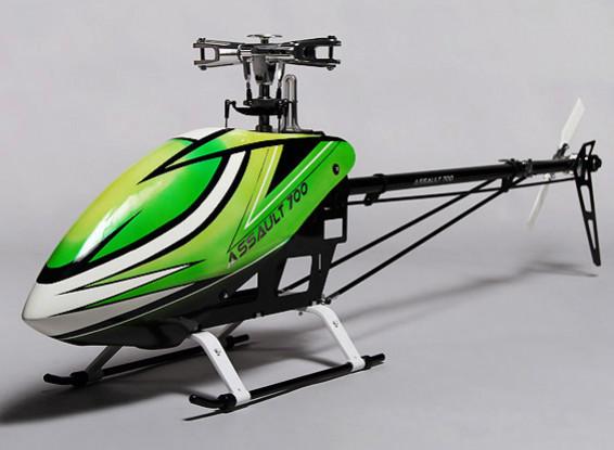 Kit de asalto helicóptero eléctrico 700 DFC Flybarless 3D